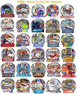Nintendo NES Classic Mini 10000+ Games, NDS, Dreamcast, N64, Super SNES Classic