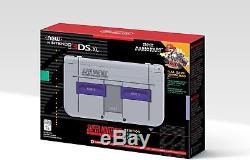 Nintendo New 3DS XL Super NES Edition (Includes Super Mario Kart)