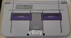 Nintendo New 3DS XL Super Nintendo SNES Limited Edition 128GB Upgrade