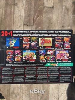 Nintendo SNES Super NES Classic Edition Mini Console EU Version IN HAND