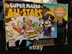 Nintendo Super Nintendo Snes Complete In Original Box + 2 Games
