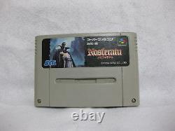 Nosferatu Super Famicom Nintendo Japan SNES Japan Video Games