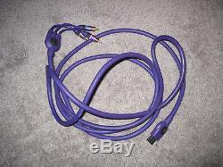 Original Monster Cable N64 Gamecube SNES Super Nintendo A/V RCA S-Video Purple