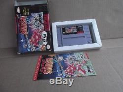 Original SUPER SMASH TV Nintendo SNES action role video games nes wii u FREESHIP