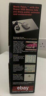 Original Snes Super Nintendo Entertainment System Console Brand New Never Used