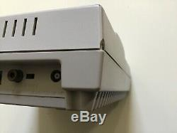 Original Super Nintendo Console Snes Game System + Premium Controllers + Hookups