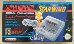 Original Super Nintendo SNES Starwing Edition BOX ONLY UKFREEPOST
