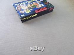 Original THE LOST VIKINGS Super Nintendo SNES CIB video games nes set FREESHIPP