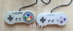 Pack Console Nintendo Super Nintendo SNES Super Mario Kart Mauvais Etat