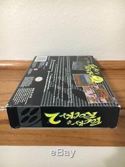 Pocky & Rocky 2 (Super Nintendo) RARE SNES! CiB Complete Case