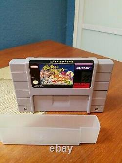 Pocky & Rocky (Super Nintendo Entertainment System, 1993) SNES