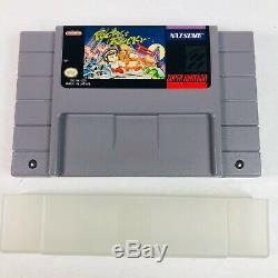 Pocky & Rocky (Super Nintendo Entertainment System, 1993) SNES CIB Complete