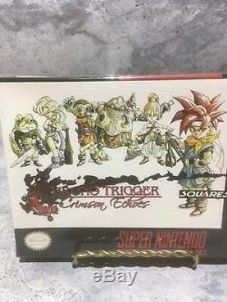 RARE Chrono Trigger Crimson Echoes Super Nintendo SNES homebrew SEALED (c5)