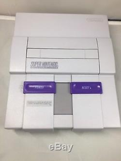 REFURBISHED Super Nintendo Entertainment System SNES CONSOLE ONLY 1CHIP 01