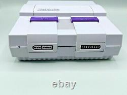REFURBISHED Super Nintendo Entertainment System SNES CONSOLE ONLY 1CHIP 02