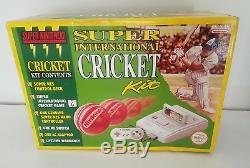 Rare- Snes Big Box- Super International Cricket- Super Nintendo Aus Pal Complete