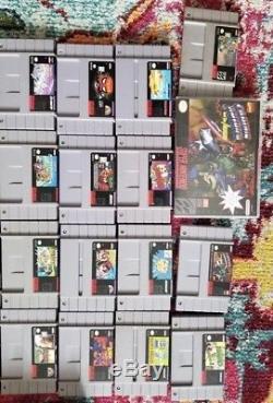 Rare Snes Games Super Nintendo (lot)