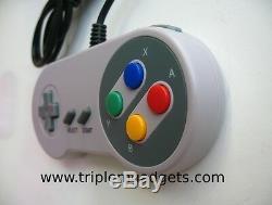 Retro Super Nintendo / SNES Console Plays Super NES Cartridges