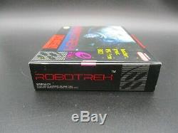 Robotrek OVP CIB SNES Super Nintendo NTSC TOP