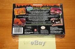 Rocko's Modern Life Spunky's Dangerous Day (Super Nintendo SNES) NEW SEALED RARE