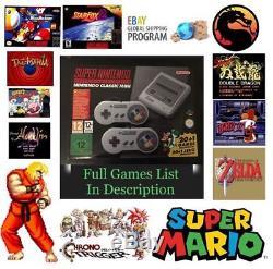 SALE GET IT FAST Super Nintendo Classic SNES Mini Console 400 Games