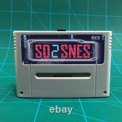 SD2SNES Everdrive Super Nintendo 16gb sd card SNES Famicom Super Nes 1200 in 1