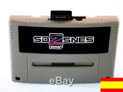 SD2SNES MegaSaveEverdriveCart & Development for Super Nintendo + 8GB NUEVO