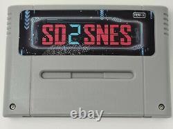 SD2SNES (NEW VERSION) Super Nintendo SNES Flash Cart + 16GB Micro SD Included