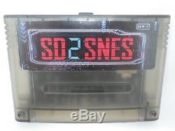 SD2SNES Rev X Super SNES Famicom Super Nes + 16GB SD Memory Card Everdrive