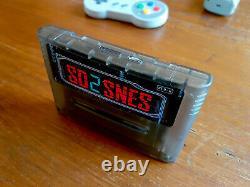 SD2SNES Super Nintendo Everdrive + 16gb sd card SNES Famicom Super Nes