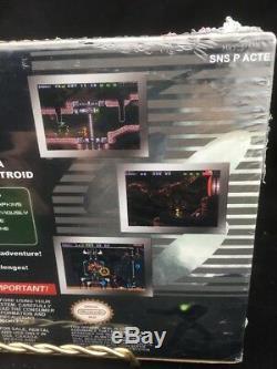 SEALED! SUPER METROID REDESIGN Super Nintendo Game RARE SHIPS FREE