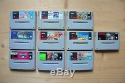 SNES 10 Spiele für Super Nintendo (Set 50)