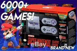 SNES Classic 6000+ Games Mod Super Nintendo Classic MODDED