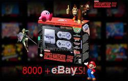 SNES Classic 8000+ Games Super Nintendo Classic Quick Reset & Turbo Mod+ Control