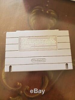 SNES Jr Mini Super Nintendo Yoshi's Island Console + Extra Controller