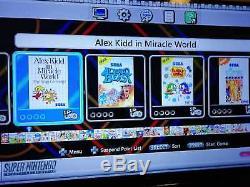 SNES MINI Super Nintendo Classic Mini With 300+ Classic Games box art modded mod