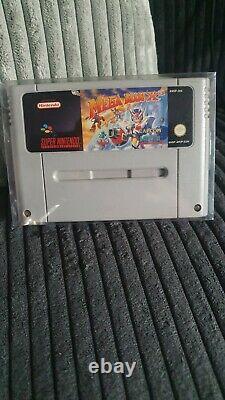 SNES Mega Man X3 Pal ORIGINAL, Eur, Super Nintendo, Very Rare, Softcase