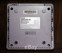 SNES Mini THS7374 RGB and Marqs Dejitter Modded Super Nintendo Jr. 1CHIP