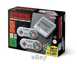 SNES Nintendo Classic Mini Super Nintendo Entertainment System Konsole NEU