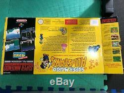 SNES Super Mario All-Stars BOXED Console Super Nintendo RARE AUS PAL