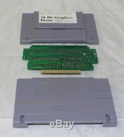 SNES Super Nintendo 16 Bit Graphics Demo