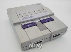 SNES Super Nintendo 1CHIP-02 1-CHIP Console Only Tested
