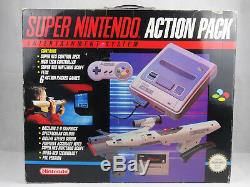 SNES Super Nintendo Action Pack Console Boxed + Scope 6