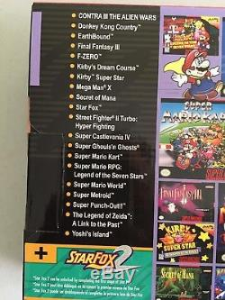 SNES Super Nintendo Classic Mini 200 GAMES All Cover Art Included! Modded