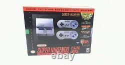 SNES Super Nintendo Classic Mini Entertainment System 21 Games Free Shipping