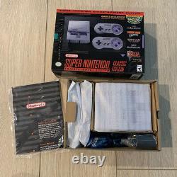 SNES Super Nintendo Classic Mini Entertainment System 7500 Games + Real Arcade