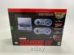 SNES Super Nintendo Classic Mini Super Entertainment System 21 Games