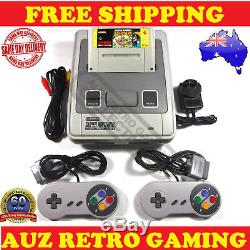 SNES Super Nintendo Console + Mario Allstars + Controllers