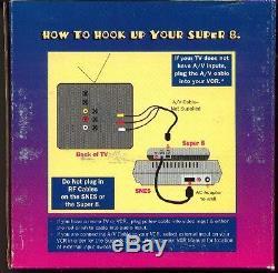 SNES Super Nintendo Console NES 8 Bit Adapter System SUPER 8 Adaptor Innovation