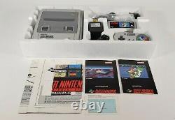 SNES Super Nintendo Entertainment System Konsole mit Super Mario World, OVP